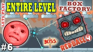 Download Chase & Dad play RED BALL 4! BOX FACTORY ENTIRE LEVEL w/ BOSS! (THE END Part 6 Gameplay) Video