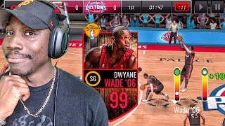 Download STEP BACK JUMP SHOT TUTORIAL WITH 99 OVR WADE! NBA Live Mobile 16 Gameplay Ep. 128 Video