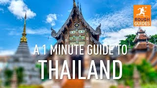 Download A 1 minute guide to Thailand Video