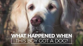 Download What Happened When this Autistic Boy Got a Dog? Video