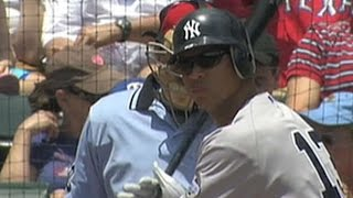 Download NYY@TEX: A-Rod collects five hits and four RBIs Video