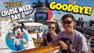 Download GOODBYE DISNEY MAGIC!!! Mediterranean Disney Cruise Week Grande Finale - Day 8 Video