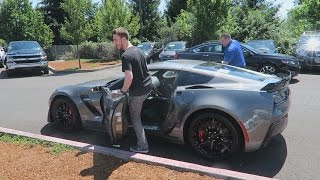 Download PICKING UP MY NEW 2016 CORVETTE Z06! (Vlog) Video