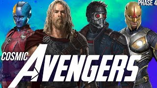 Download Thor & the Asgardians of the Galaxy + Nova in Phase 4 - Avengers Endgame Video