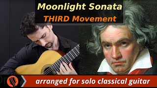 Download Beethoven - Moonlight Sonata (3rd Movement), arr. Emre Sabuncuoglu Video