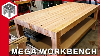 Download Mega Workbench - How to Make a Woodworking Bench Video