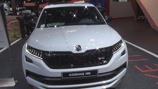 Download Škoda Kodiaq RS 2.0 TDI 240 hp DSG7 4x4 (2019) Exterior and Interior Video