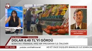 Download Dolar 6.49'u gördü! Türkiye felakete mi sürükleniyor? / İktisatçı Korkut Boratav açıkladı Video