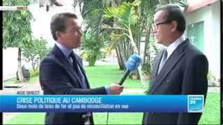 Download Mr Sam Rainsy Interview with France 24 TV [French Version] Video