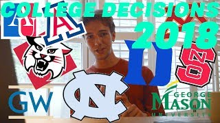 Download College Decision Reactions 2018! Duke, UNC, NC State, American + MORE! Video