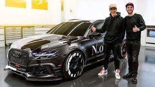 Download Jon Olsson's ABT Audi RS6+   Jetzt knallt's richtig!   Daniel Abt Video