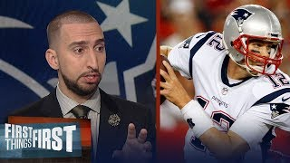 Download Have the Patriots leaned on Brady too much in 2017? Nick Wright weighs in | FIRST THINGS FIRST Video