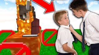 Download KID SENT ME TO TROLL HIS HIGHSCHOOL BULLY ON MINECRAFT!! Video