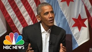Download President Obama 'Incredibly Optimistic' If Next Generation Prioritizes Civic Engagement | NBC News Video