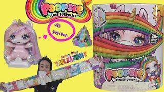 Download Jenny play 유니콘 똥 슬라임 서프라이즈돌 미스테리팩 장난감 놀이 Unboxing Poopsie Slime Surprise Unicorn Rainbow Brightstar Video