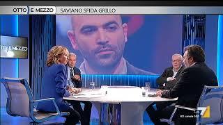 Download Otto e mezzo - Saviano sfida Grillo (Puntata 18/09/2017) Video