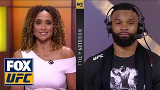 Download Tyron Woodley talks to UFC on FOX | POST-FIGHT | UFC 228 Video