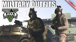 Download GTA V - Task Force 88, SOG & Militant Outfits! New Top Doomsday Military Oufits! Video