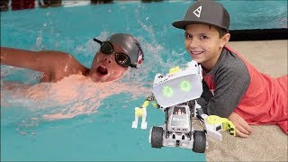 Download 🤖 EXERCISING HIS BRAIN AND BODY | RyGuy's BUSY DAY 🏊 Video