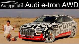 Download Audi e-tron DRIVING REVIEW electric quattro AWD test e tron - Autogefühl Video