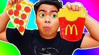 Download GUMMY FOOD VS REAL FOOD 11! Video
