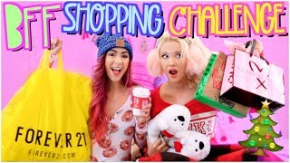 Download BESTFRIEND SHOPPING CHALLENGE 2017!! HOLIDAY EDITION Video