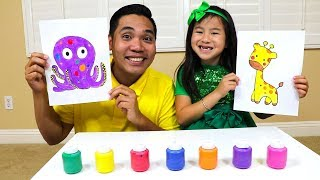 Download Learn Colors & Fruit Names with Jannie Fun Fruits & Paint Kids Toys Video