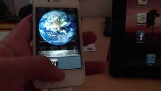 Download iPhone 4S speed test A5 processor benchmark using Pi with 32K digits Video