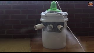 Download Homemade Air Conditioner (Use Ice From water for better effect) Video