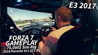 Download Forza 7 - Gameplay on a 70,000$ rig - 2018 Porsche 911 GT2 RS - E3 2017 by Tanel Video
