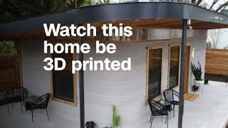 Download Watch this home be 3D printed Video