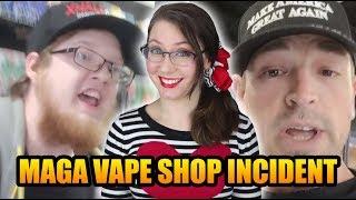 Download Vape Shop Clerk Refuses Trump Supporter, Gets Fired   Xhale City Vape Video