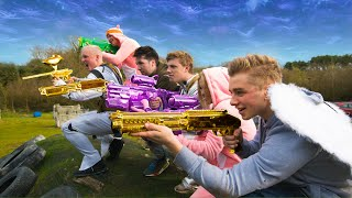 Download Real Life PAINTBALL Fortnite Battle Royale Video