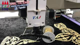 Download SARL TAJ EMB عمل الفتلة على المكنة رقم TAJ602+2 Video