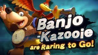 Download Banjo Kazooie in Smash Bros Ultimate DLC Reveal Trailer Nintendo Direct E3 2019 Video
