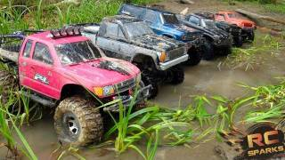 Download RC ADVENTURES - 6 Scale RC 4x4 Trucks in MUD, DIRT & a Forest! Group Trail Gathering (GTG) Video