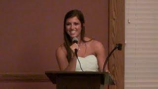 Download Cheer Extreme Gabie Dinsbeer Sr Elite Banquet Farewell Speech 2014 Video