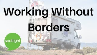 Download ″Working Without Borders″ - practice English with Spotlight Video