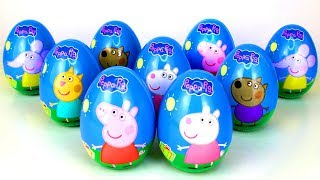 Download Super Surprise Eggs Opening with Peppa Pig and Best Friends Surprise Toys Mashems Stamps Peppa Toys Video