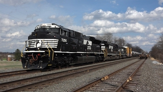 Download Trains on the Norfolk Southern Harrisburg Line Spring 2016 Video