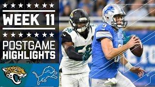 Download Jaguars vs. Lions | NFL Week 11 Game Highlights Video