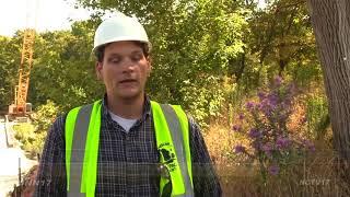 Download McDowell Grove Bridge Construction Begins Video