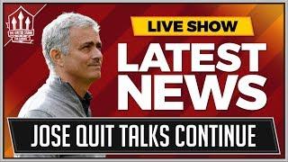 Download Jose MOURINHO Manchester United QUIT Talks Continue? MAN UTD News Video