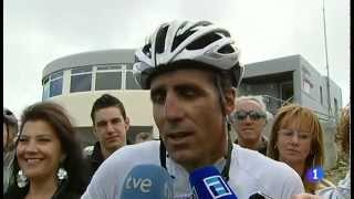 Download Indurain talks about Armstrong after finishing the queen stage of the Vuelta 2012 Video