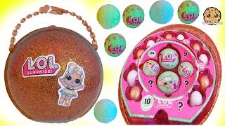 Download LOL Surprise Giant Ball - Big & Lil Sisters Baby Dolls Surprise Blind Bags + Bath Fizz Charms Toys Video