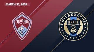 Download HIGHLIGHTS: Colorado Rapids vs. Philadelphia Union   March 31, 2018 Video