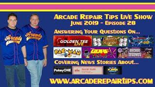 Download Arcade Repair Tips - Live Show - Episode 28 Video