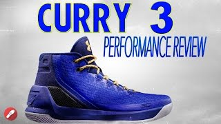 Download Under Armour Curry 3 Performance Review! Video