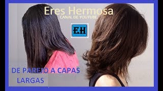 Download Corte de Dama Sin Capas a Capas Largas |Eres Hermosa. Video