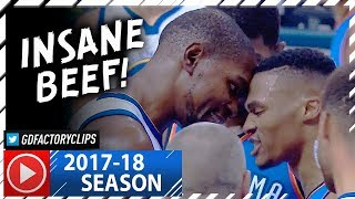 Download Russell Westbrook vs Kevin Durant INSANE BEEF Duel Highlights (2017.11.22) - Westbrook DESTROYS KD! Video